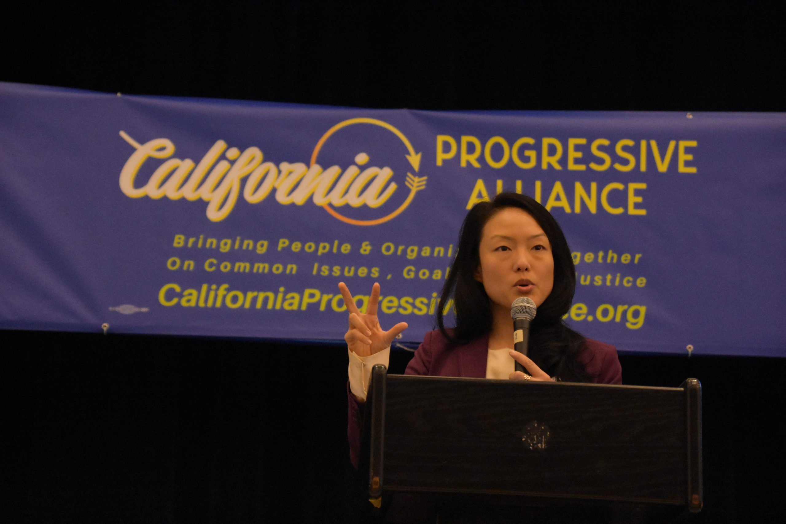 California Progressive Alliance Annual Meeting 2020 Jane Kim